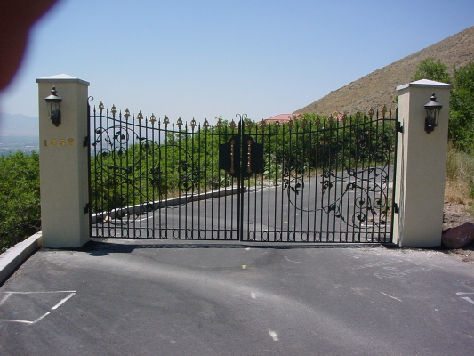 another beautiful custom gate