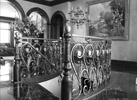 Custom ornate railing