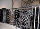 Hand - crafted custom railing