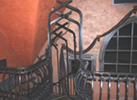Inside Custom Metal Railing